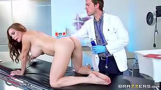 Passionate long haired darling seduces her gorgeous doctor and gets her sweet pussy nailed in the hospital. This horny woman with huge boobies is so damn wild!